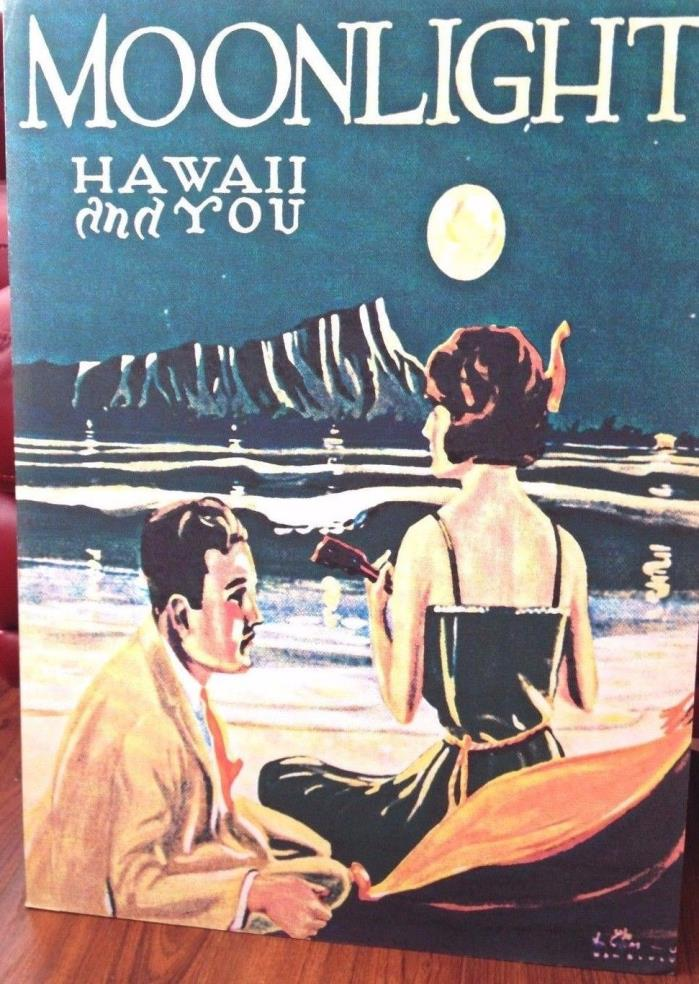 Moonlight Hawaii and You print mated poster 20