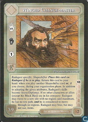 Middle-Earth CCG MECCG TWH The White Hand Winged Change-Master