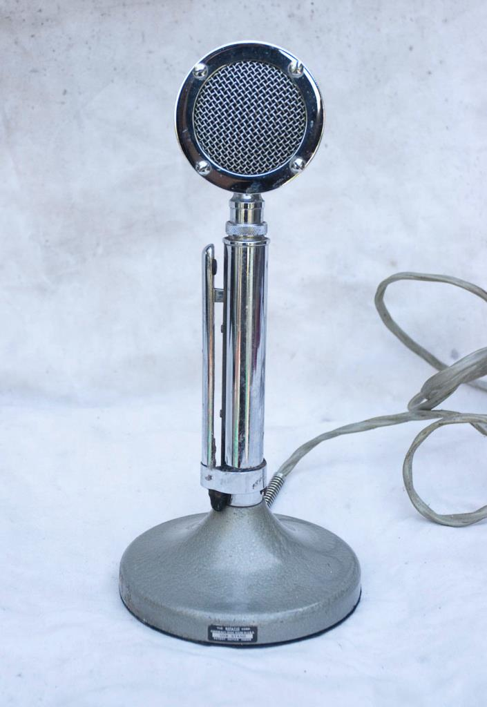 ASTATIC  MICROPHONE  EXCELLENT SHAPE !