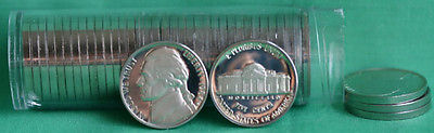 Proof Roll of 1984 S Jefferson Nickels 40 5c Coins from United States Proof Sets