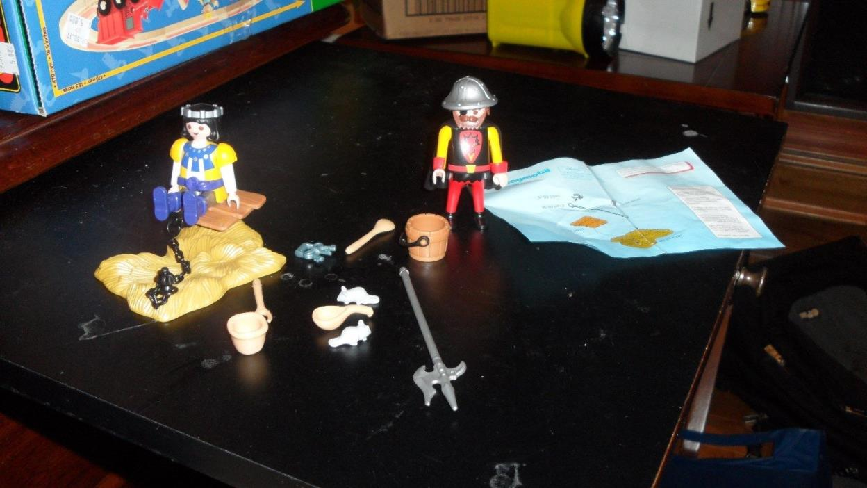 Playmobil Knights 3328 Captive Prince Complete no box RARE