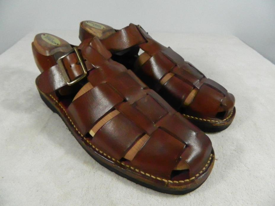 Cole Haan Country brown fisherman sandals Mens sandals shoes  9 1/2 M C00807