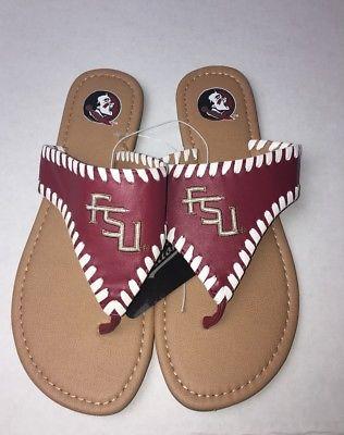 FSU Sandals Size 8