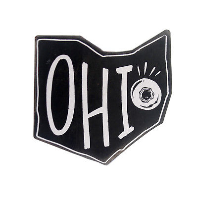 Home & Garden OHIO MAGNET Wood Buckeye State 32670