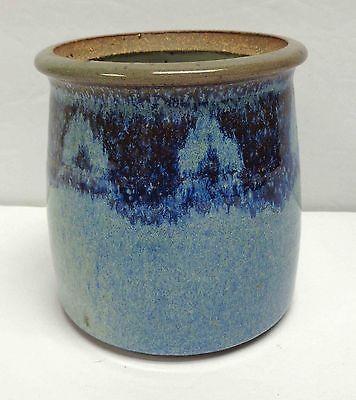 Charles Piatt Pacific Northwest Pottery Two-Tone Stoneware Jam Jar/Honey Pot!