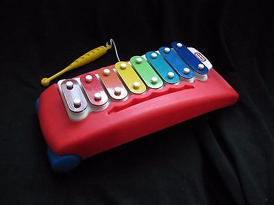 LITTLE TIKES Xylophone Tap a Tune Pull Toy Toddler Musical Instrument Music