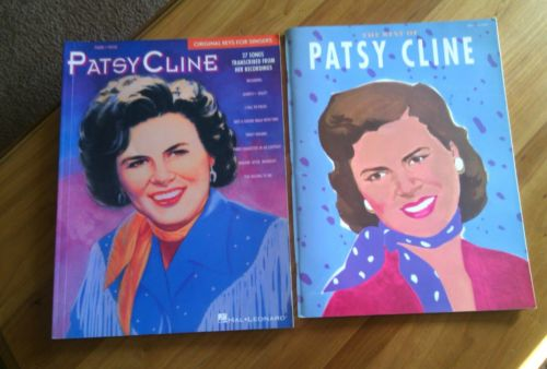 Patsy Cline music books. lot of 2