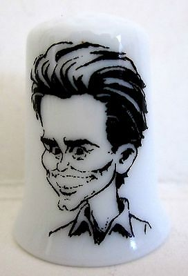 Jim Carrey Porcelain Thimble
