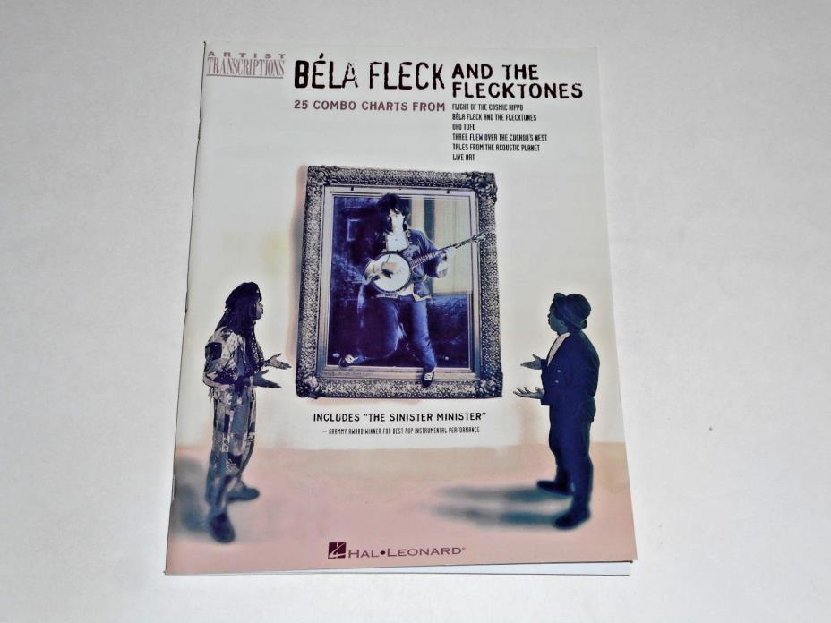 Bela Fleck And The Flecktones 1998 Songbook Sheet Music, 25 Combo Charts, Banjo