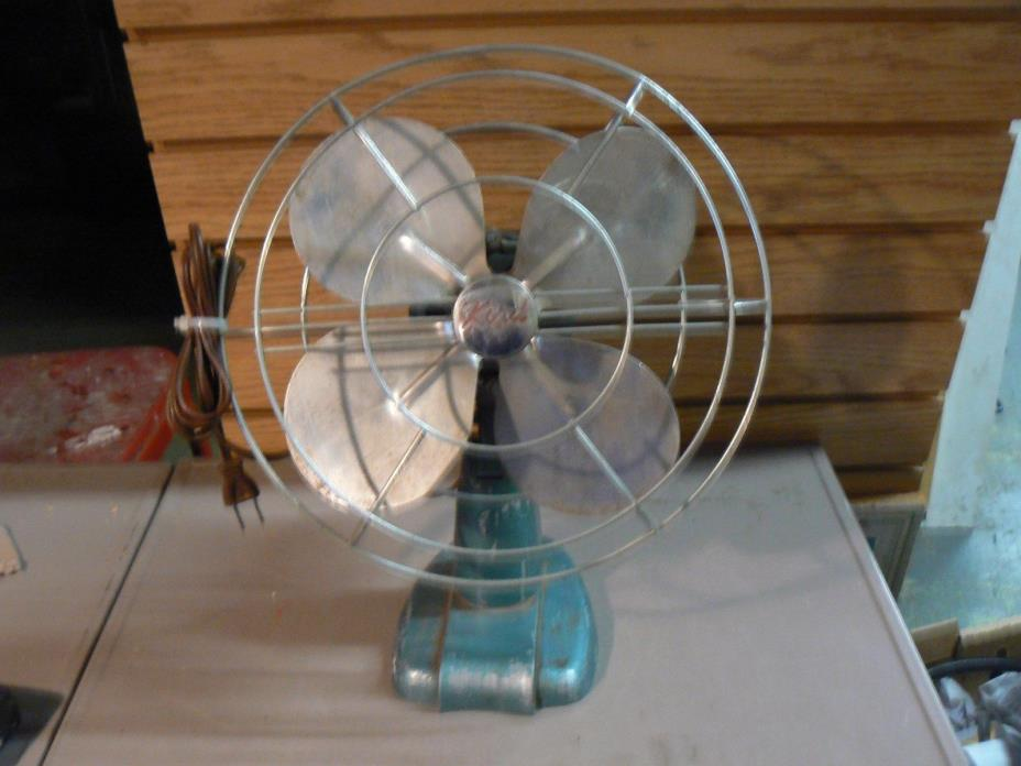Vintage Antique Kord Desk Fan Art Deco Retro Modern cat no d-10x