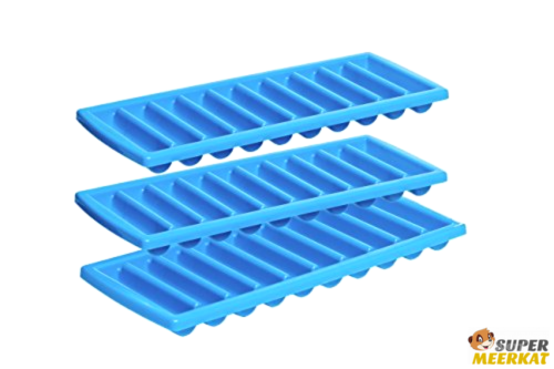3Pk Ice Stick Tray Sticks Mold Maker Trays For Bottle Water Bottled Drinking
