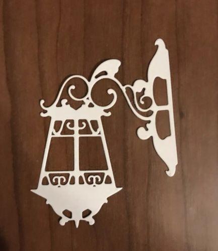 Paper Die Cuts Lamp 4 Pcs