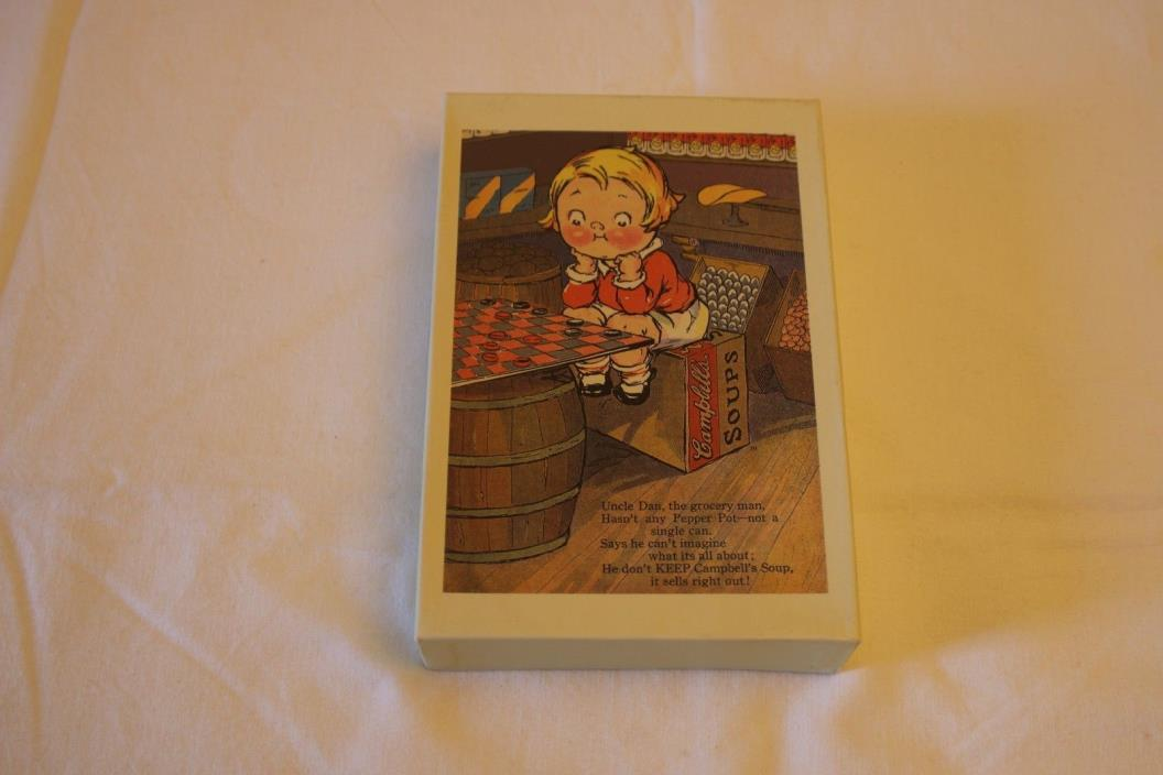 Box Of 19 Campbell's Soup Kids Boxed Greeting Cards Blank Notes