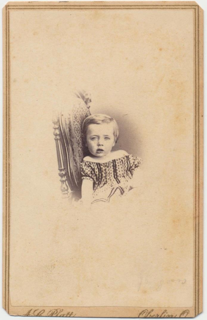 1860s ANTIQUE CDV PHOTO CIVIL WAR TAX REVENUE STAMP CARTE de VISITE #33