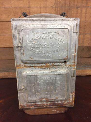 Vintage Conservo Swartzbaugh Toledo Canner 20