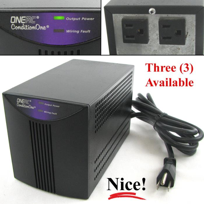ONEAC PC120A ConditionOne Two-Outlet Power Conditioner 120v