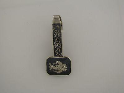 VTG Siam Sterling Silver Tie Clip Marked Sterling Siam
