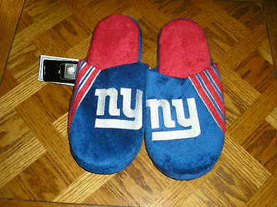 New York Giants Mens Slip On Slippers