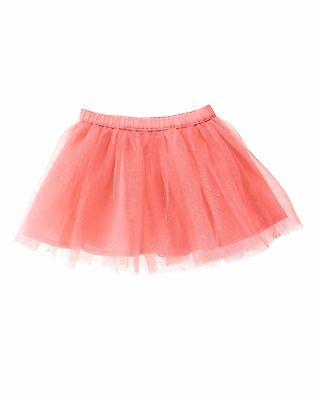 NWT Gymboree Sparkle BirthdayTutu Coral Skirt 2T