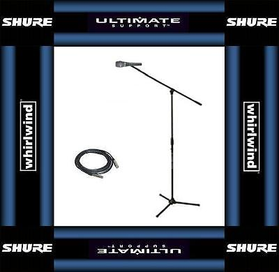 Shure Beta 87A Mic w/ Ultimate Jamstand & 20' XLR cable! Free US 48 State Ship!