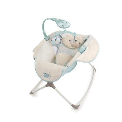 Ingenuity Moonlight Rocking Sleeper Lullaby Lamb Bouncers Vibrating Chairs Baby
