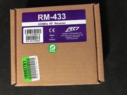 RTI RM-433 NIB!