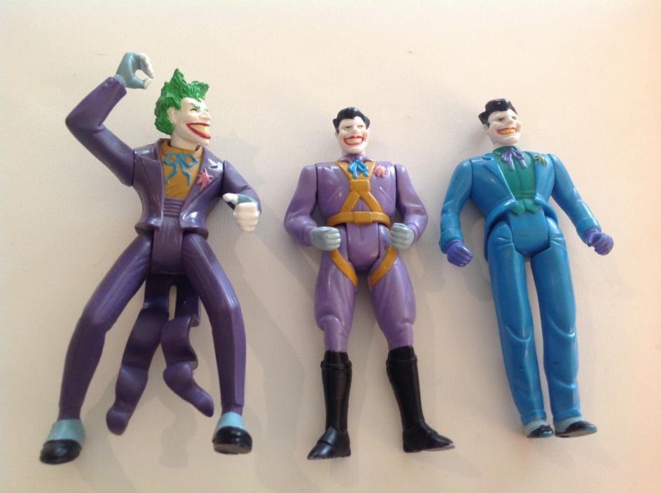 Batman ~ Joker Action Figure Lot Kenner
