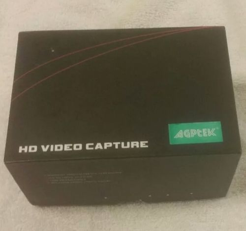 AGPtek Game Capture Streaming Video HD 1080P 720P w/ IR Video Capture for PS4