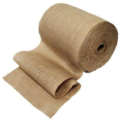 12.5-Inch x 50-Yards Mountain Top Trade Premium Burlap Table Runner Roll With