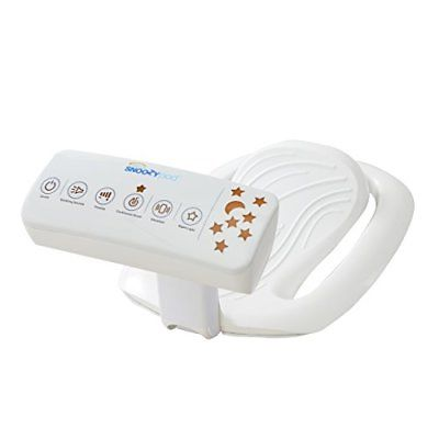Halo Snoozypod Vibrating Bedtime Soother White Bouncers Chairs Baby Gear