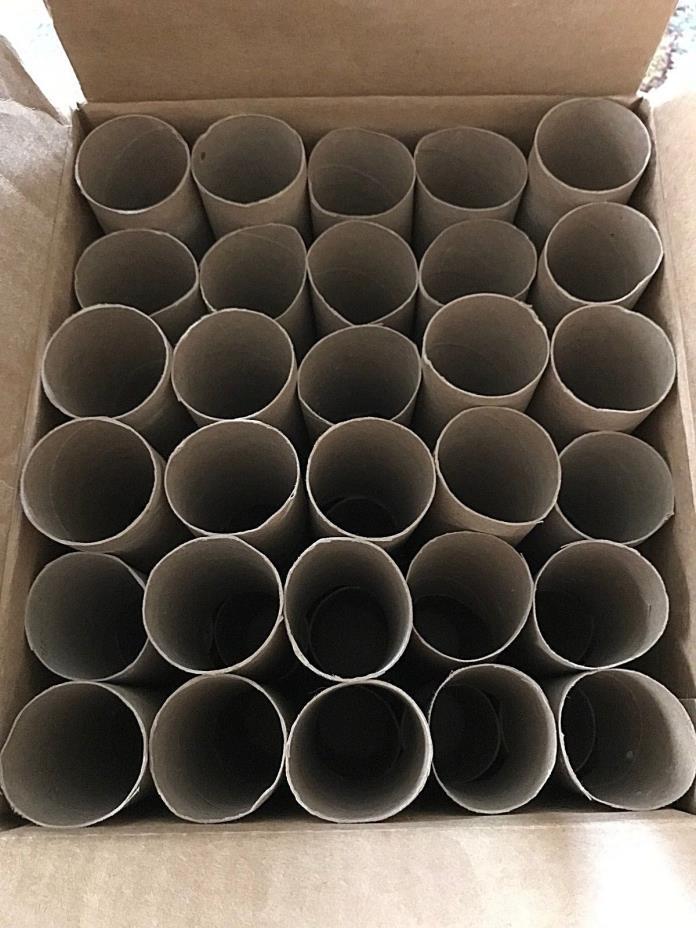 60 Empty Clean Toilet Paper Rolls Cardboard Tube Crafts, Art Supplies, Gardening