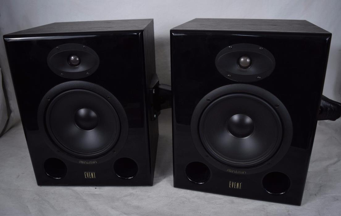 Event Studio Precision 8 Monitor Speakers Biamplified Direct Field Pair 2