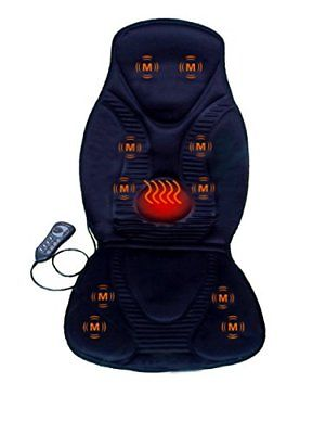 FIVE S FS8812 10-Motor Vibration Massage Seat Cushion with Heat - Neck - S..