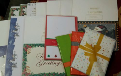 NIP Geographics Lot/14 pks Christmas Cards Invitations Postcards Photo Paper