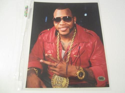 Flo Rida Signed Autographed 8x10 photo CAS COA Hand Signed Rap Superstar
