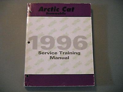 1996 Arctic Cat Cat Master Technician Service Training Manual