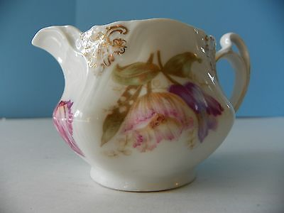 Antique floral creamer from Bavaria + other markings