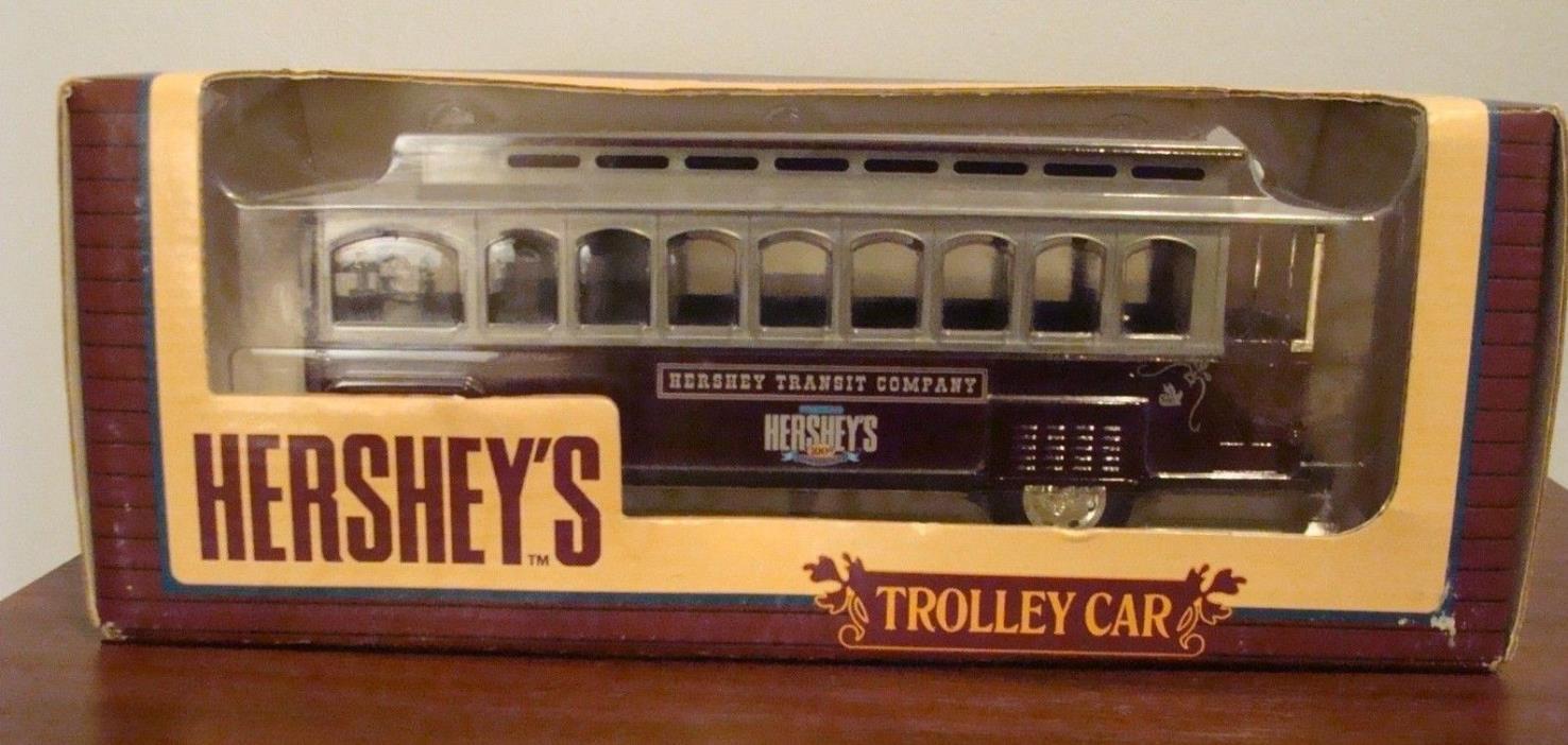 HERSHEY'S 100TH ANNIVERSARY TROLLEY CAR  1994 BANK ERTL