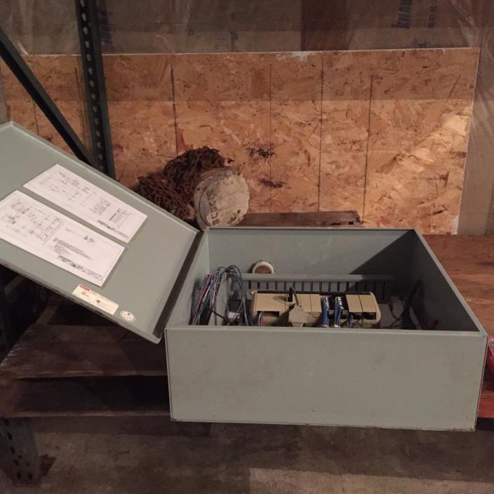 Hoffman Electrical Enclosure w/wiring and plug