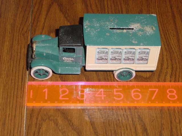 ERTL 1931 HAWKEYE LIMITED EDITION DIE CAST METAL DELIVERY TRUCK BANK