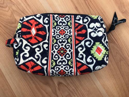 Vera Bradley Sun Valley Small Cosmetics Bag