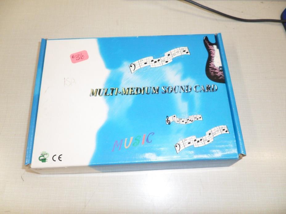 ISA multi-medium sound card