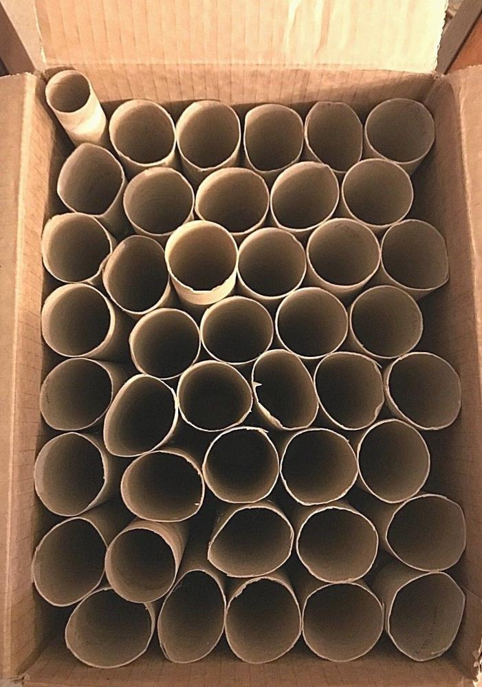 43 Empty Clean Paper Towel Rolls Cardboard Tube Crafts, Art Supplies, Gardening