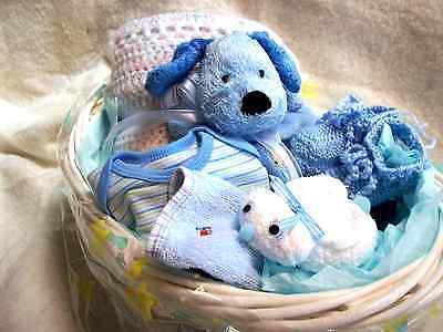 BABY BOY'S GIFT BASKET -
