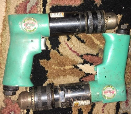 Lot Of 2 As-is Grizzly Reversible Air Drill (s) Untested From Auction