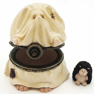 Boyds Bears Resin BOOSLEY HALLOWHEDGE Polyresin Halloween Treasure Box 4022270
