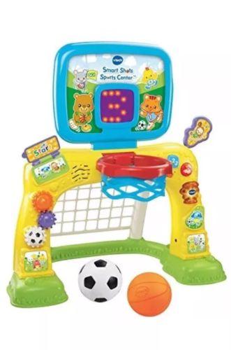 VTECH smart shots sport Basketball Hoop Soccer Goal Ball Sport Toddler Kids Play