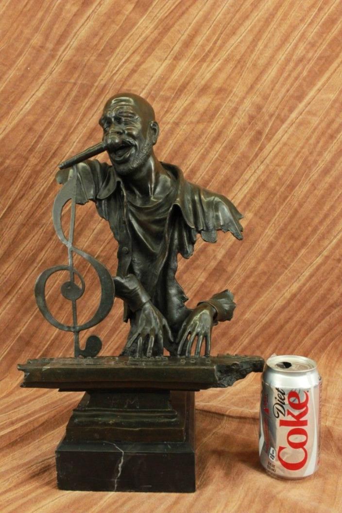 Huge Sale Bronze Sculpture Hayes Singer Songwriter Original FigurineSB
