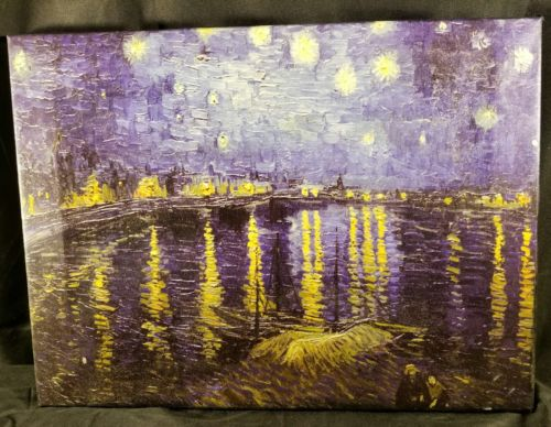 Van Gogh FRAMED 12x16 Cavas Print