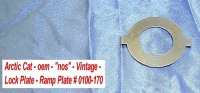 Arctic Cat Salsbury 910 Clutch Ramp Plate - Lock Plate # 0100-170 (703229) NOS